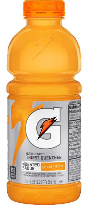 More Gatorade Thirst Quencher Flavors